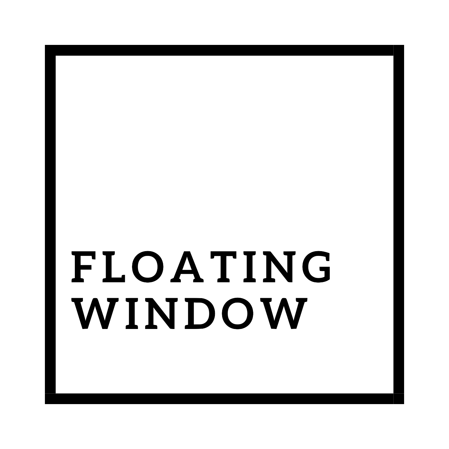 Floating Window Logo